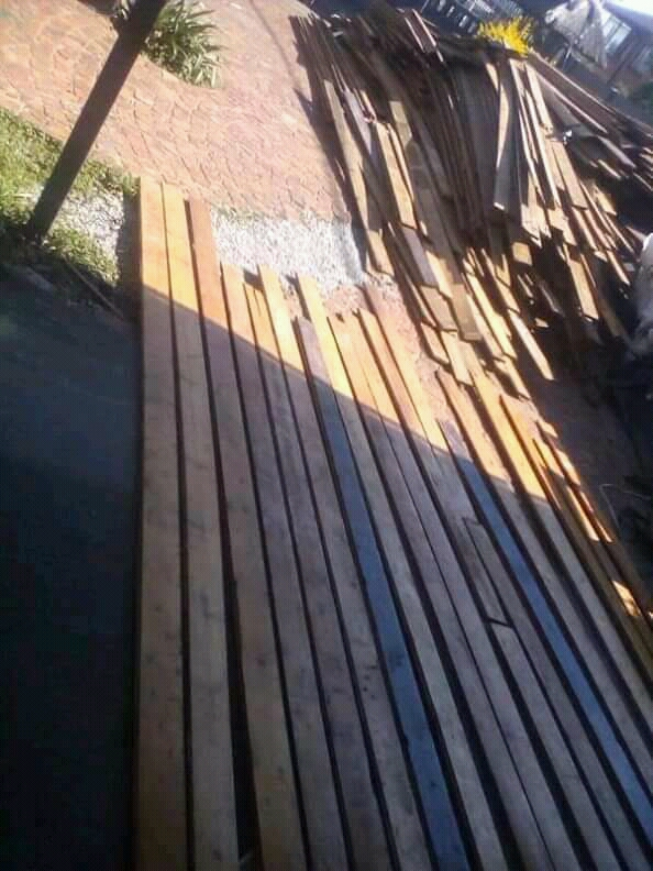 83mm wide reclaimed Oregon pine flooring planks for sale
