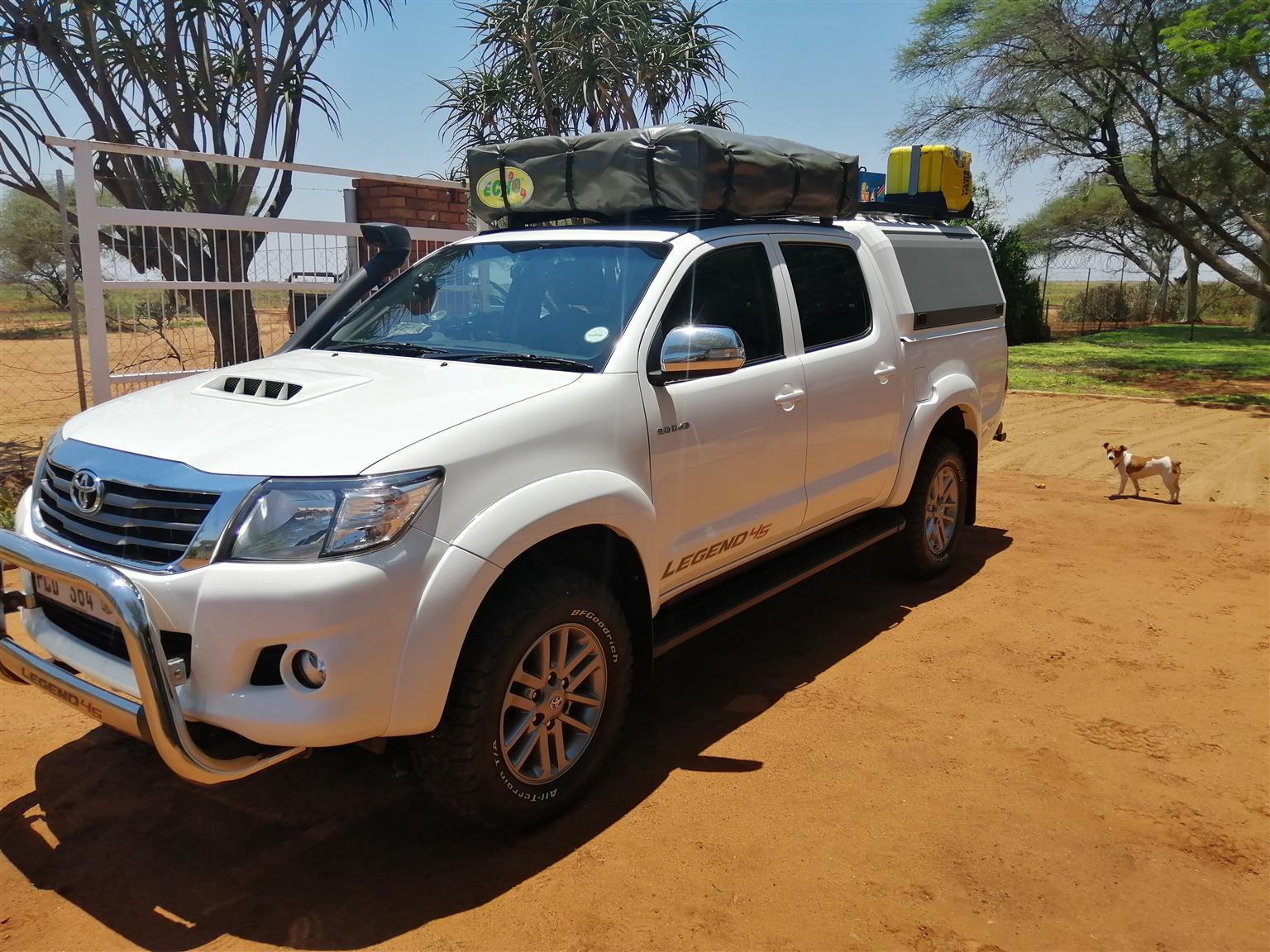 2015 Toyota Hilux Double Cab Hilux 3 0 D 4d Heritage 4x4 A T P U D C Junk Mail