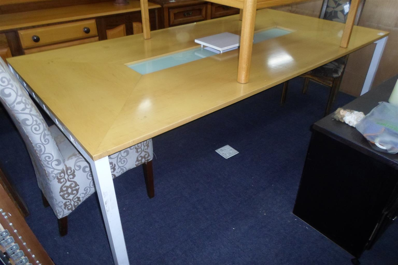 Wooden Large Boardroom Table