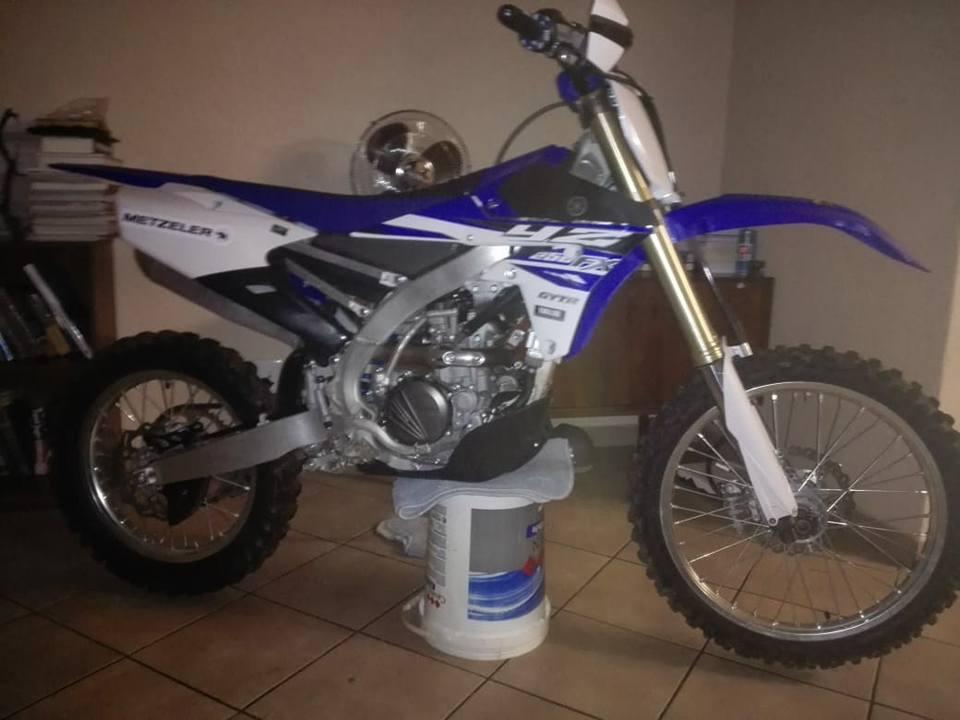 2015 Yamaha YZF
