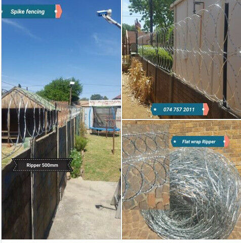 Spike Fencing / Razor wire supply and fitted