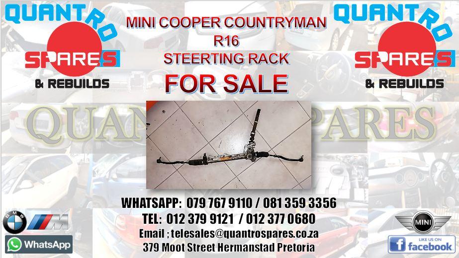 Mini cooper countryman r16 steering rack for sale
