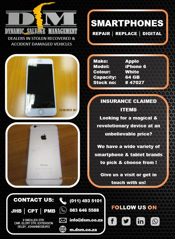 Apple iPhone 6 64GB - White