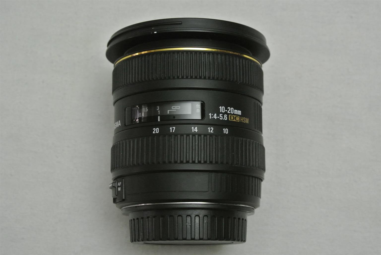 Sigma 10-20mm f/4-5.6 EX DC HSM Lens for Nikon DSLR Cameras - WIDE ANGLE