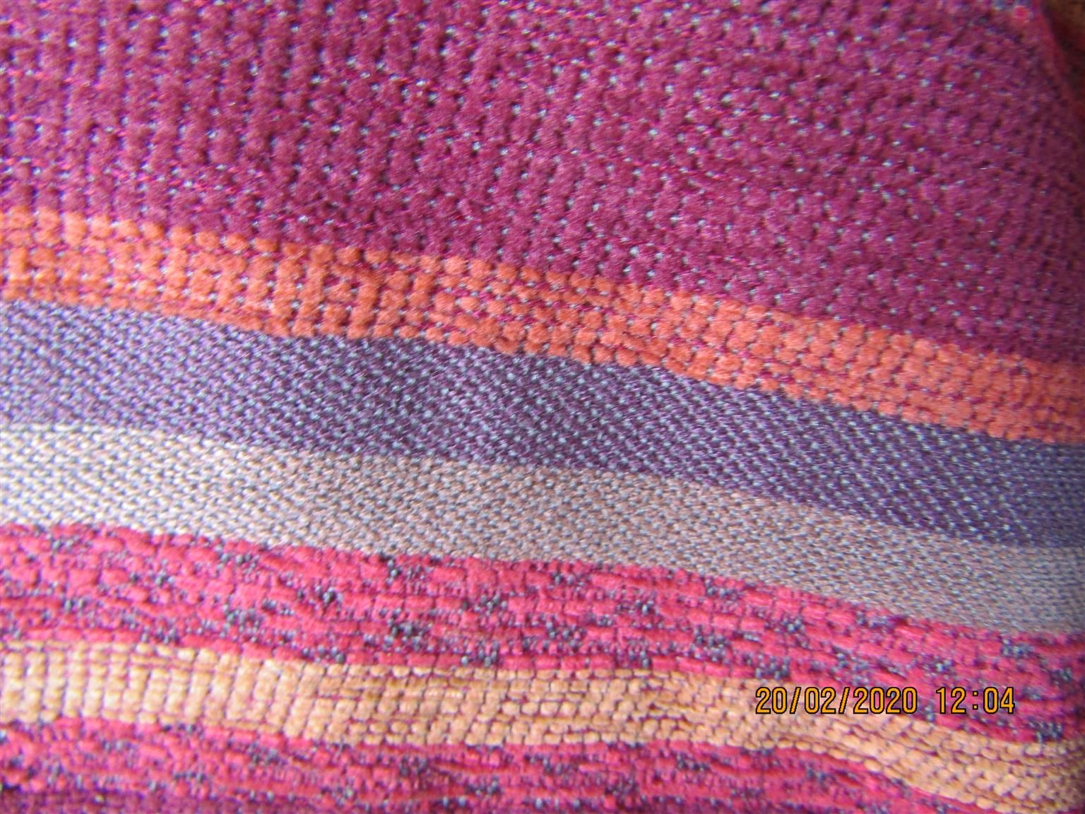 Fabric Roll W=140cm, D=21cm, Weight=11kg