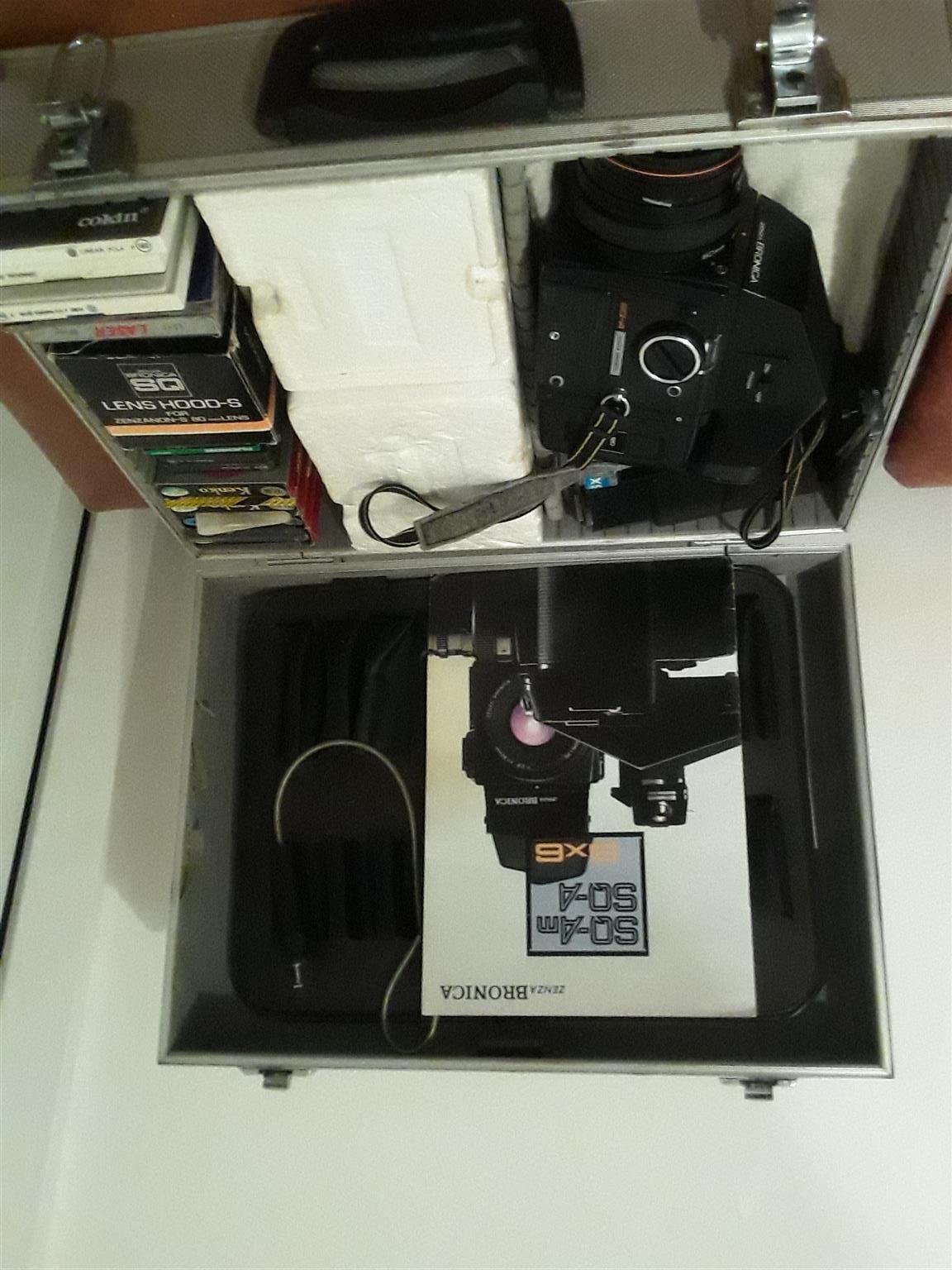 Zenza Bronica SQ-A 80mm Camera