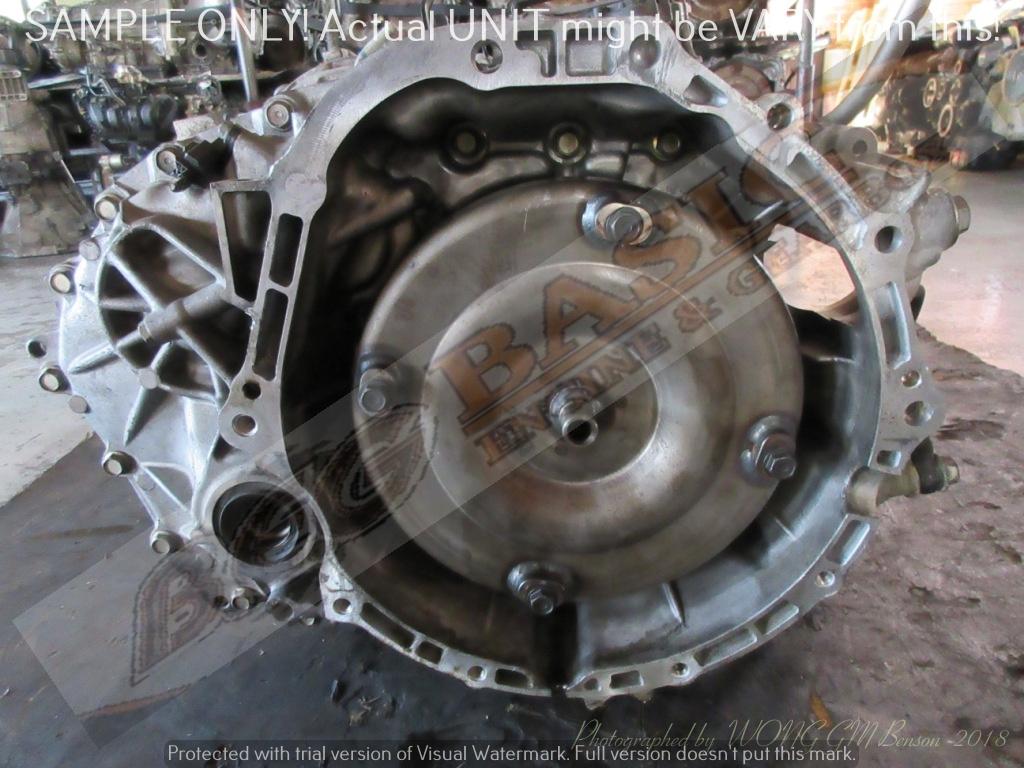 NISSAN VQ25 CVT 2WD AUTO FWD Gearbox -TEANA