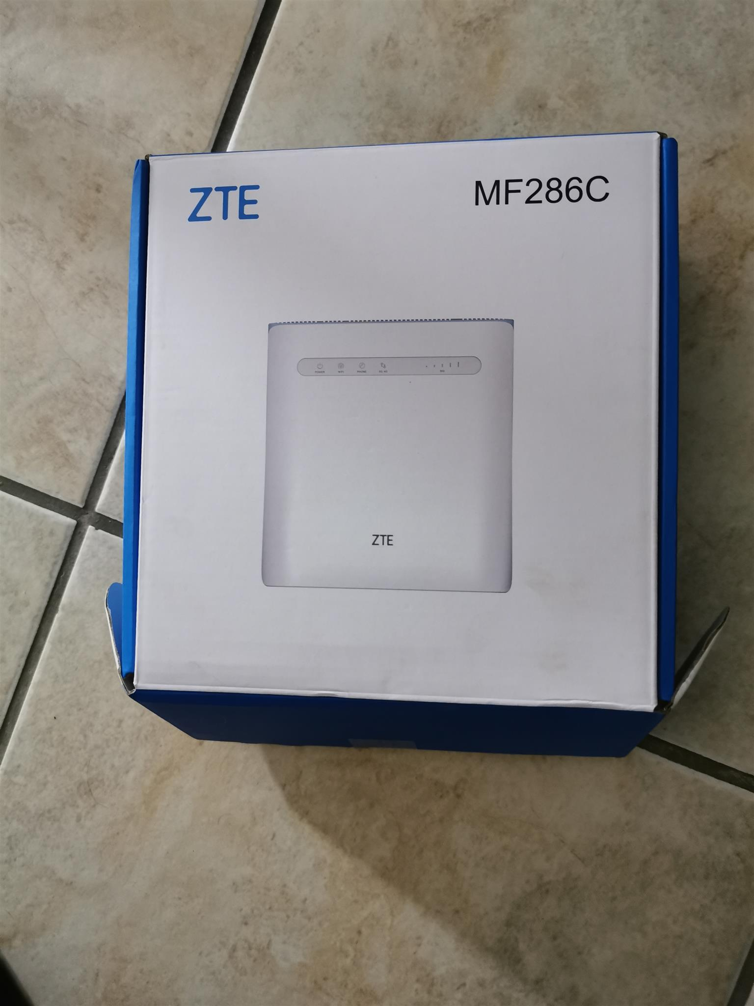 ZTEMF286C ROUTER NEW