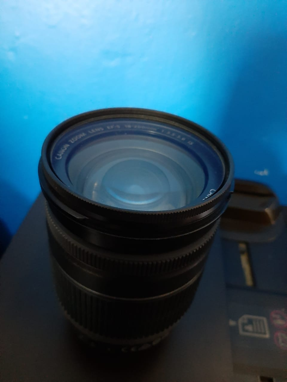 Canon zoom lens 18-200mm