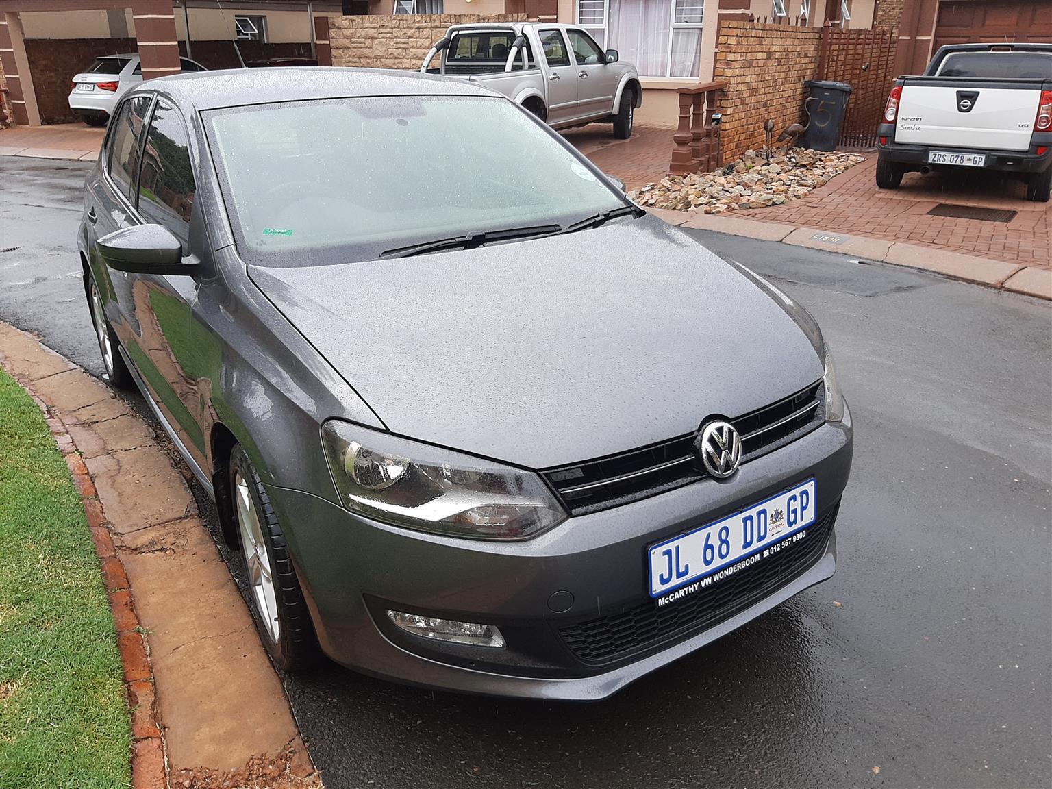 2014 VW Polo Vivo hatch 5-door POLO VIVO 1.4 COMFORTLINE (5DR)