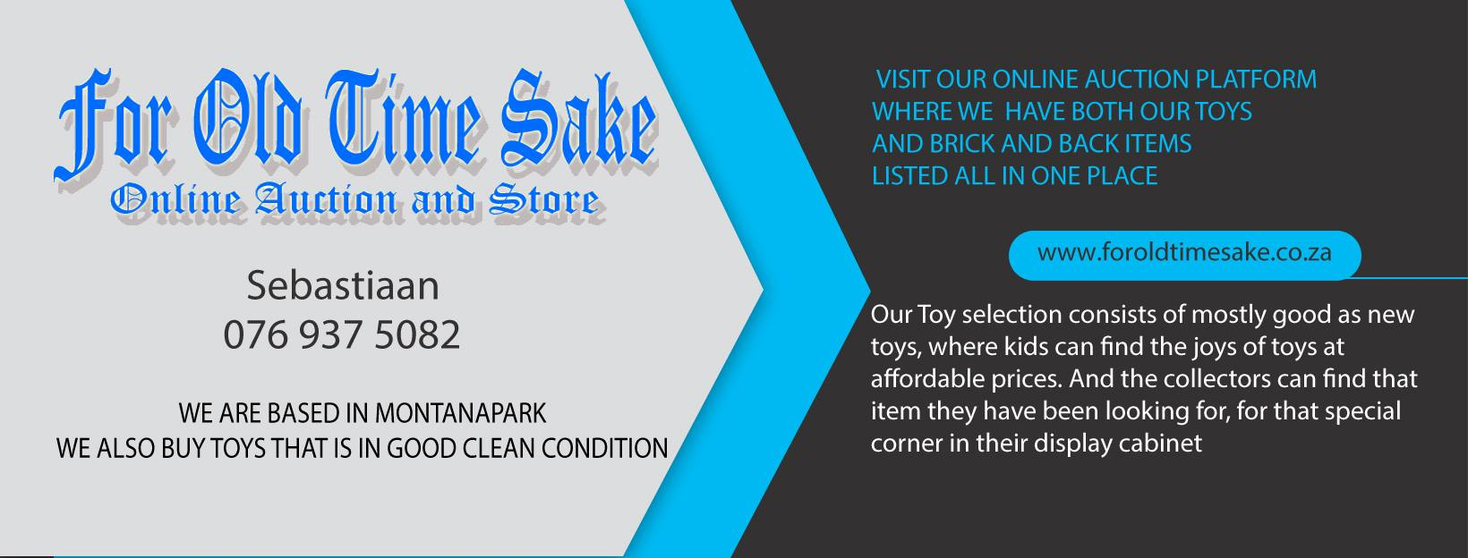 Pre Loved Toys online Auction store