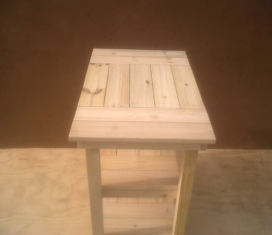 Compactum Cottage series 950 3 Tier Change-over table - Raw