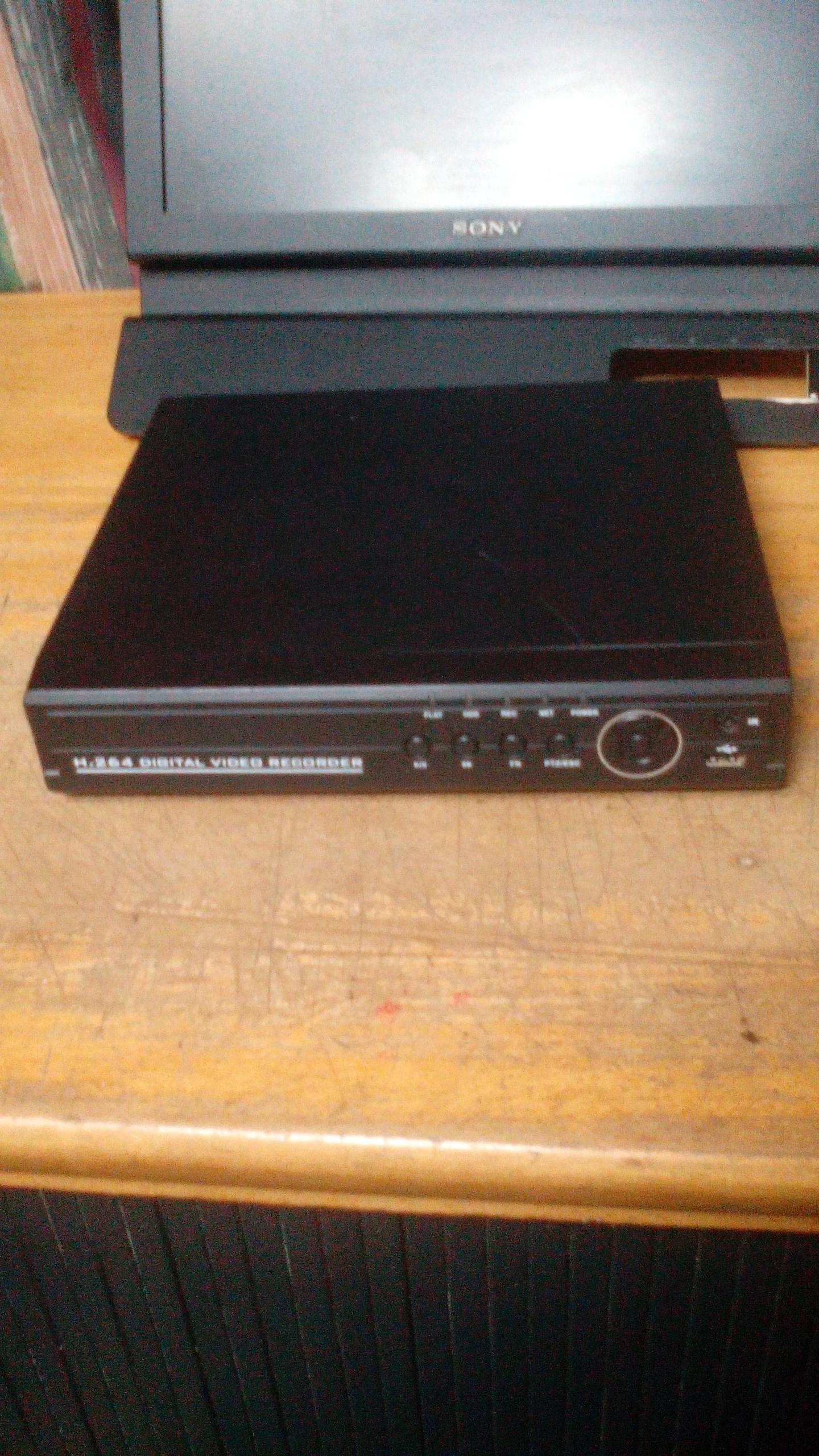 DVR 4 ch DVR with HDD