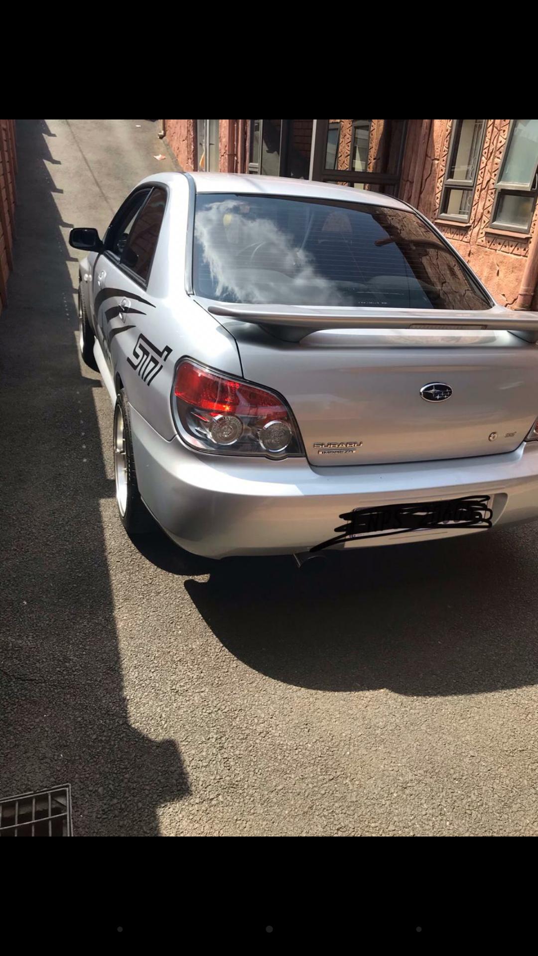 2006 Subaru Impreza 2.0 R sedan