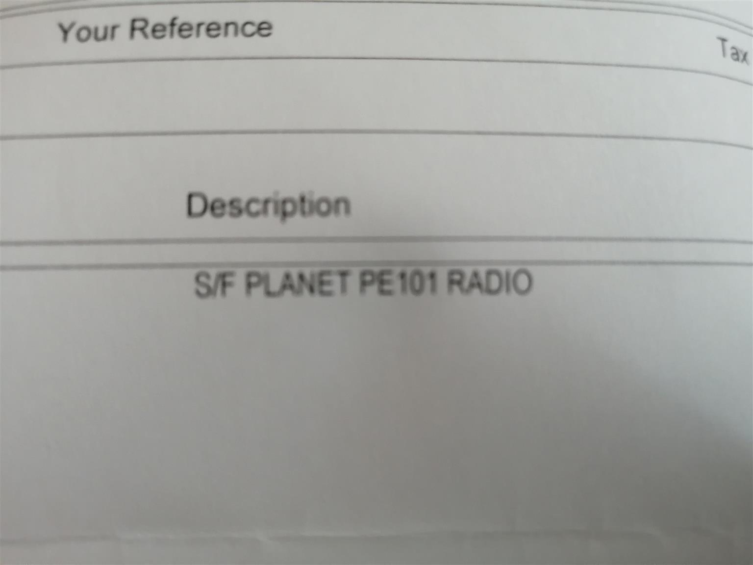 Planet car radio