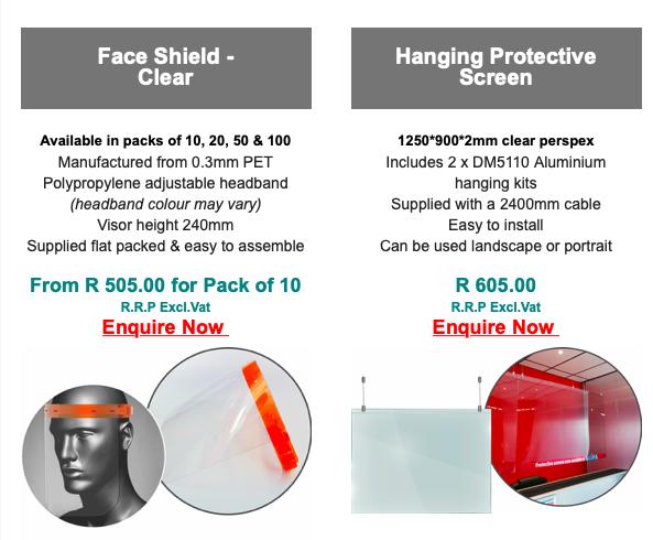 Face Masks - Glass Masks