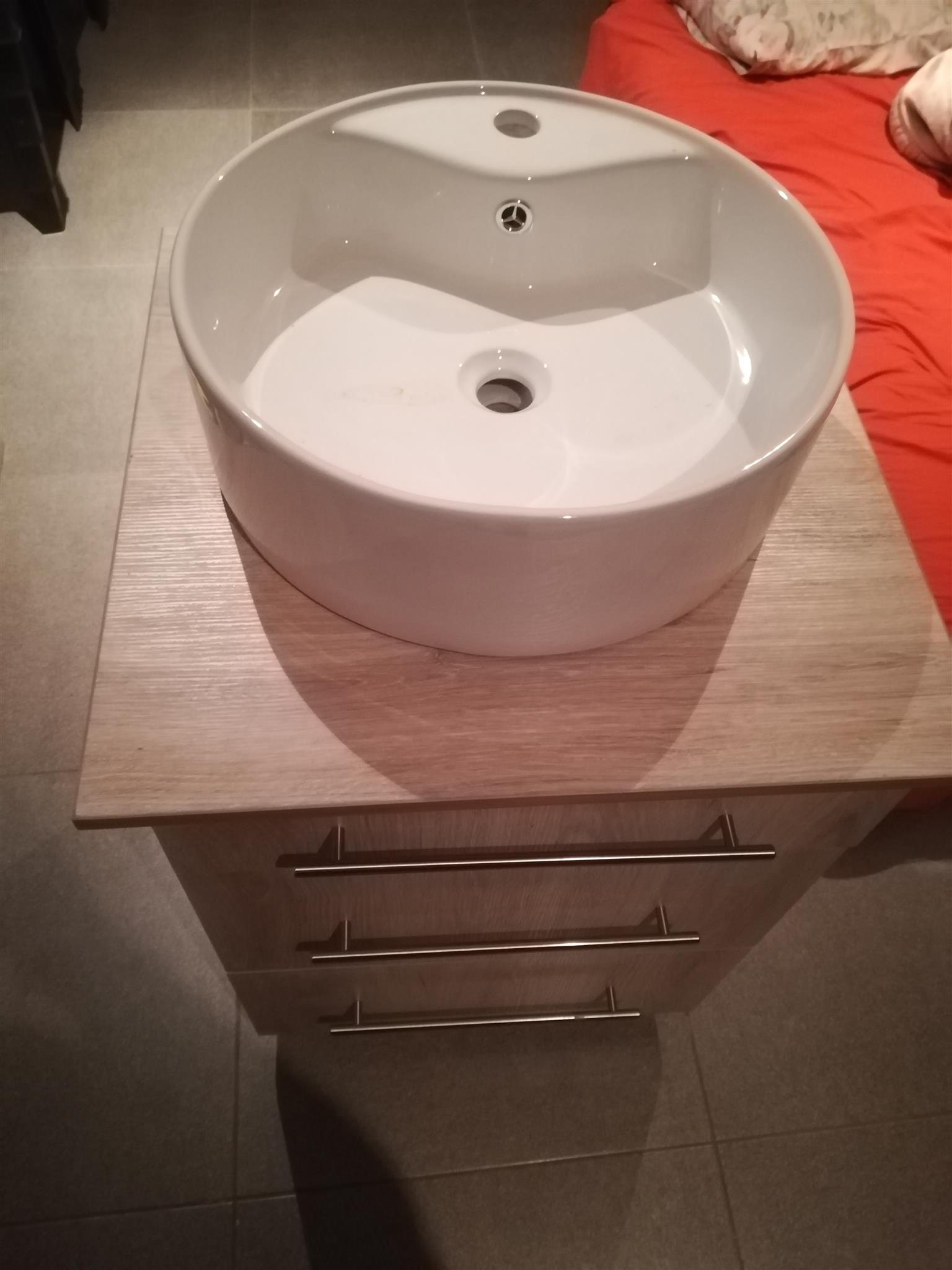 Bedsite Table and Basin combo