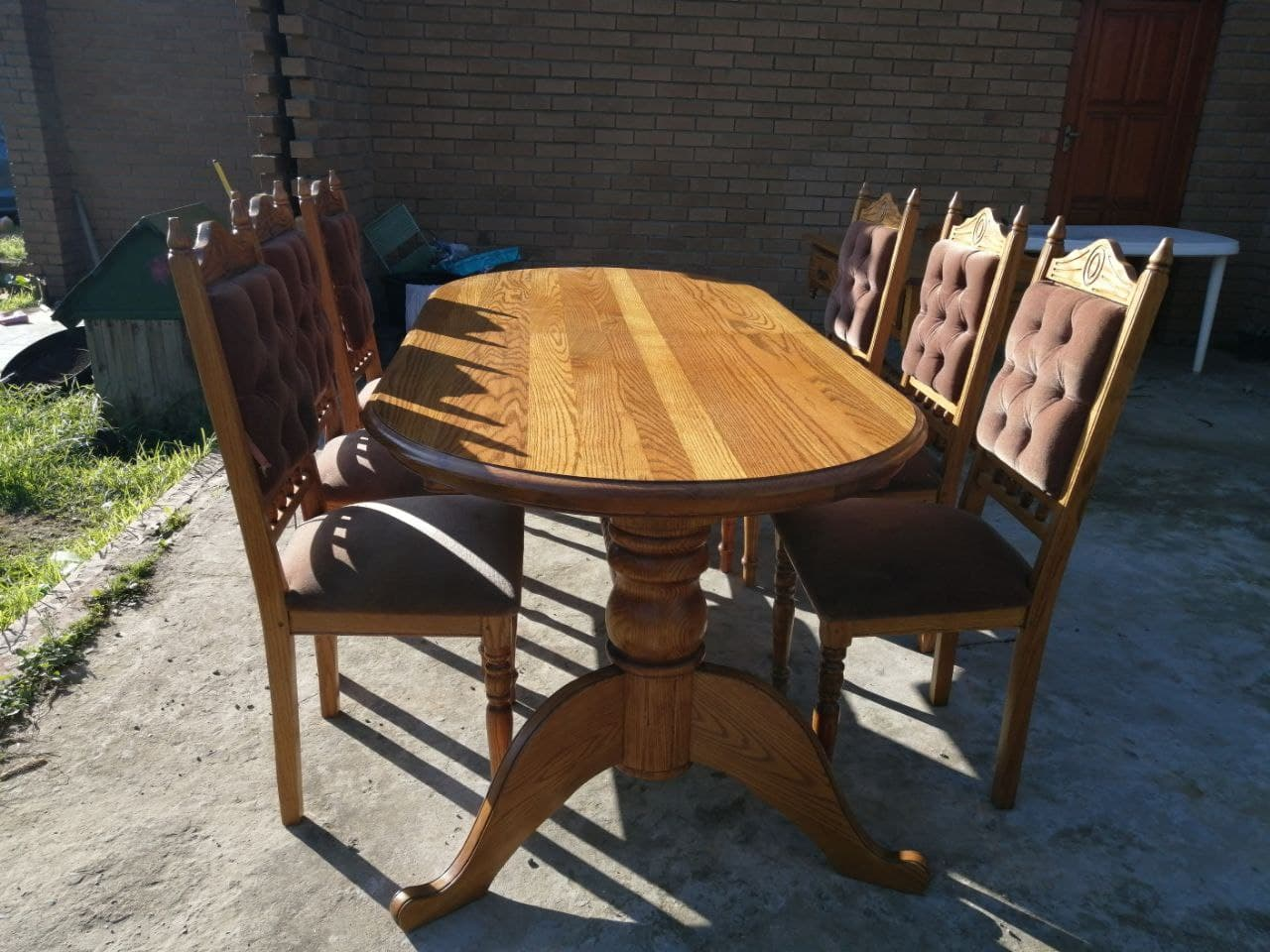 6 Seater Dining & Buffet Table