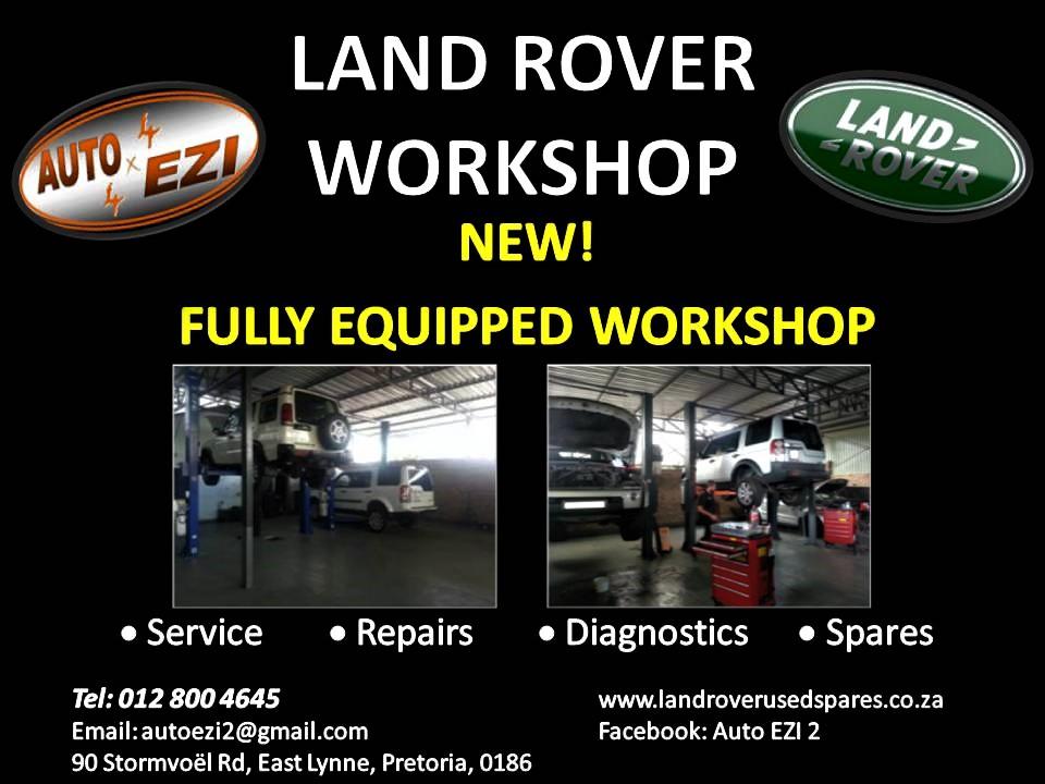 Land Rover Workshop - Service and Repair | AUTO EZI