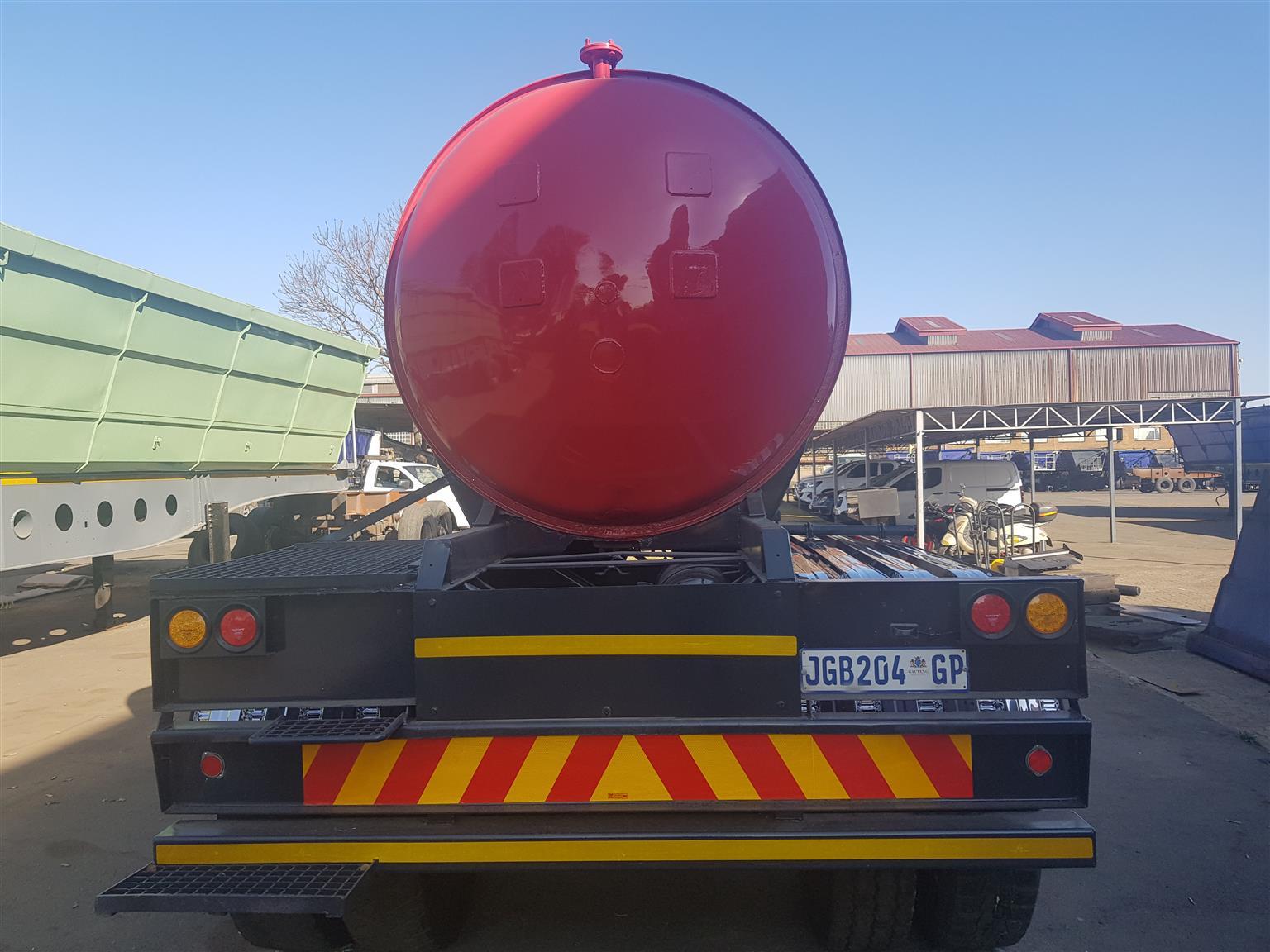 304 stainless steel tanker