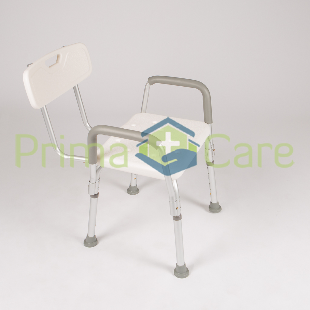 Shower Bench - Chair. With Back and Arm Rests. ON SALE. Now Only R999. While Stocks Last