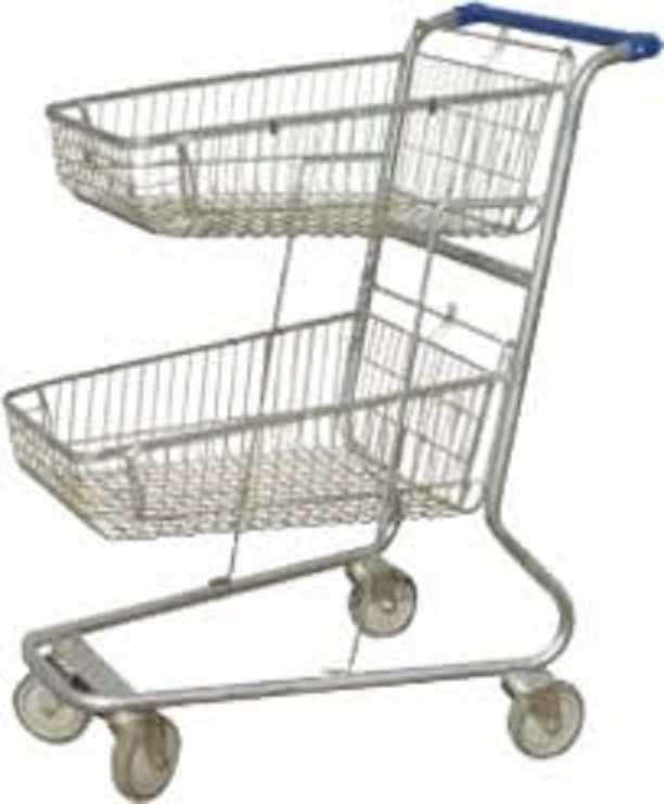 New Double Baskets Trolly (EXCL VAT)