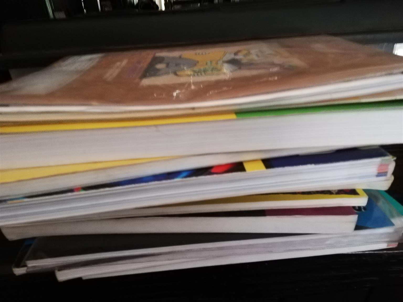 SCHOOL BOOKS GR8 AND GR10