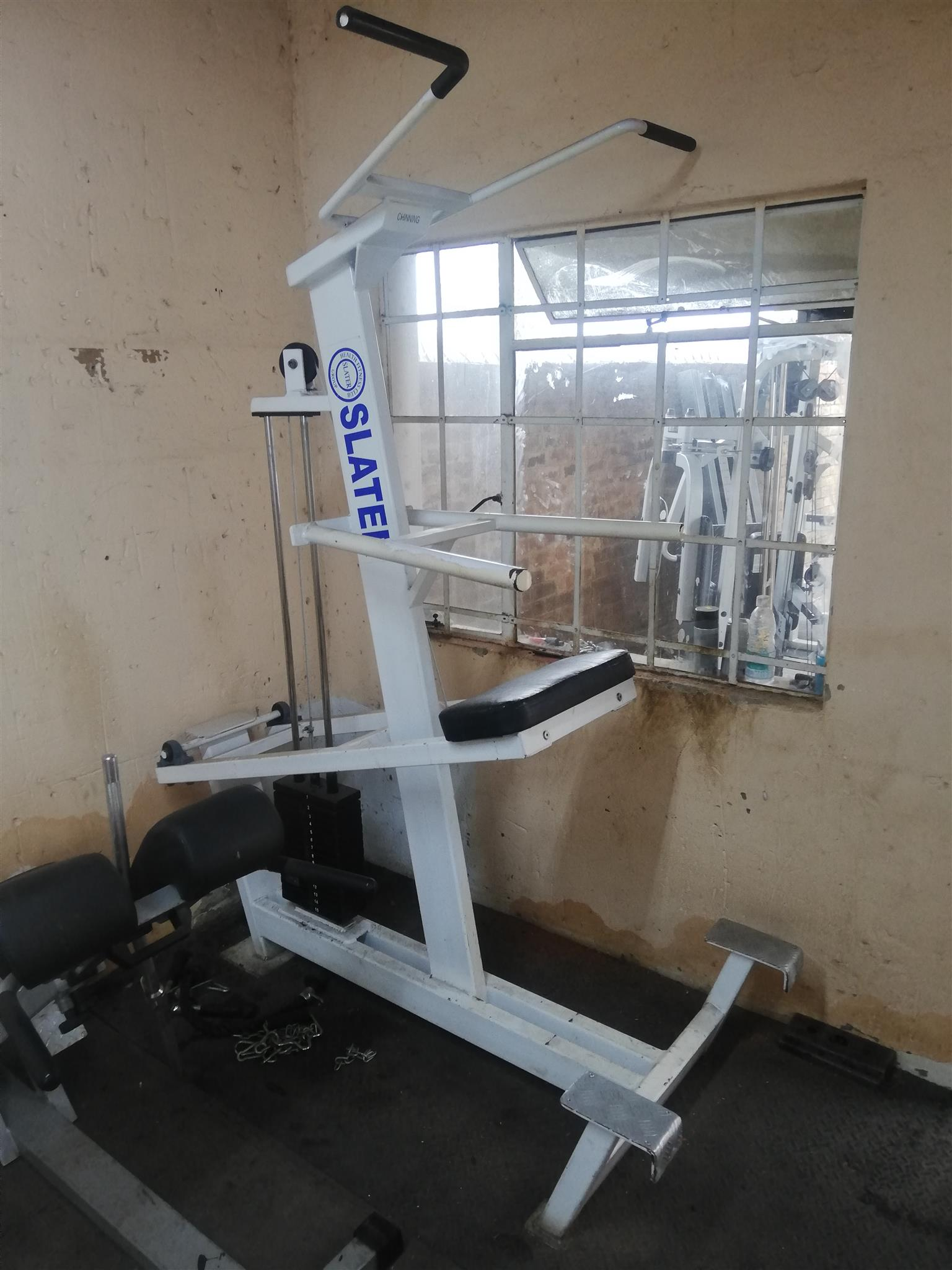 Genesis ASSISTED PULL-UP/CHIN-UP & DIP MACHINE