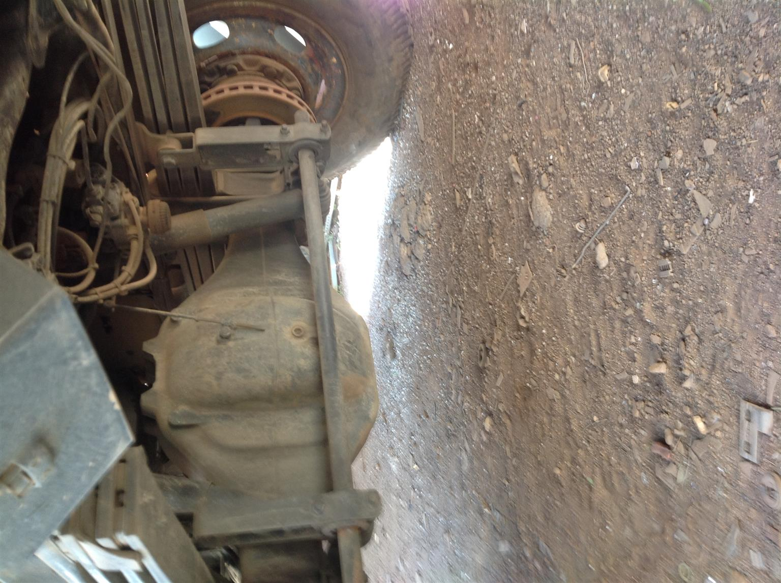 Stripping Mercedes-Benz Atego 2001 for Spares