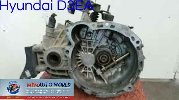 Imported used HYUNDAI D3EA gearboxes. Complete second hand used gearboxe