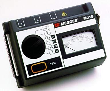 MJ15 5kV Analog Insulation Tester