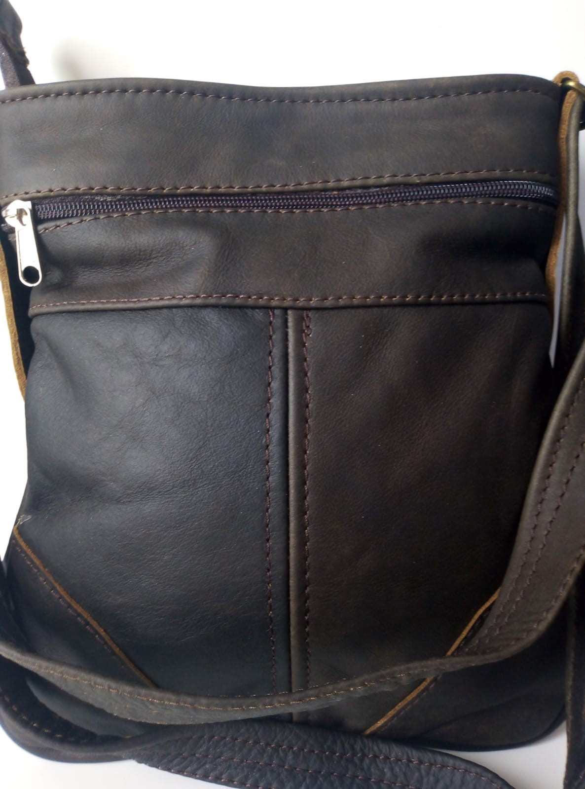 Genuine Leather casual Sling Bags