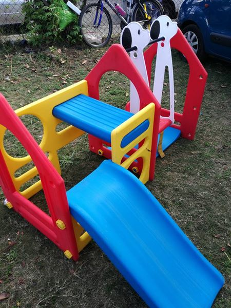 Toddler jungle gym