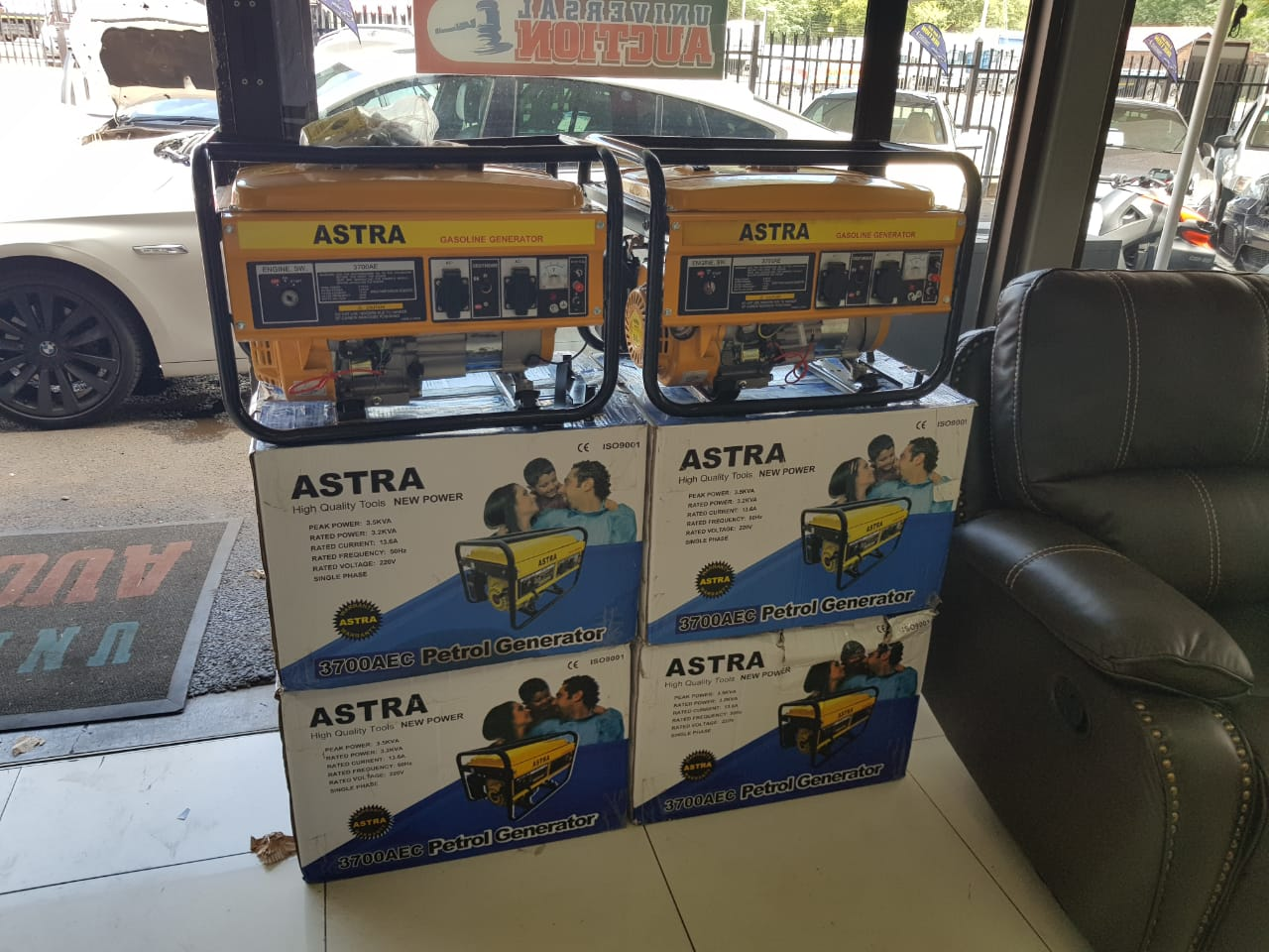 Astra 3.5kva Generator