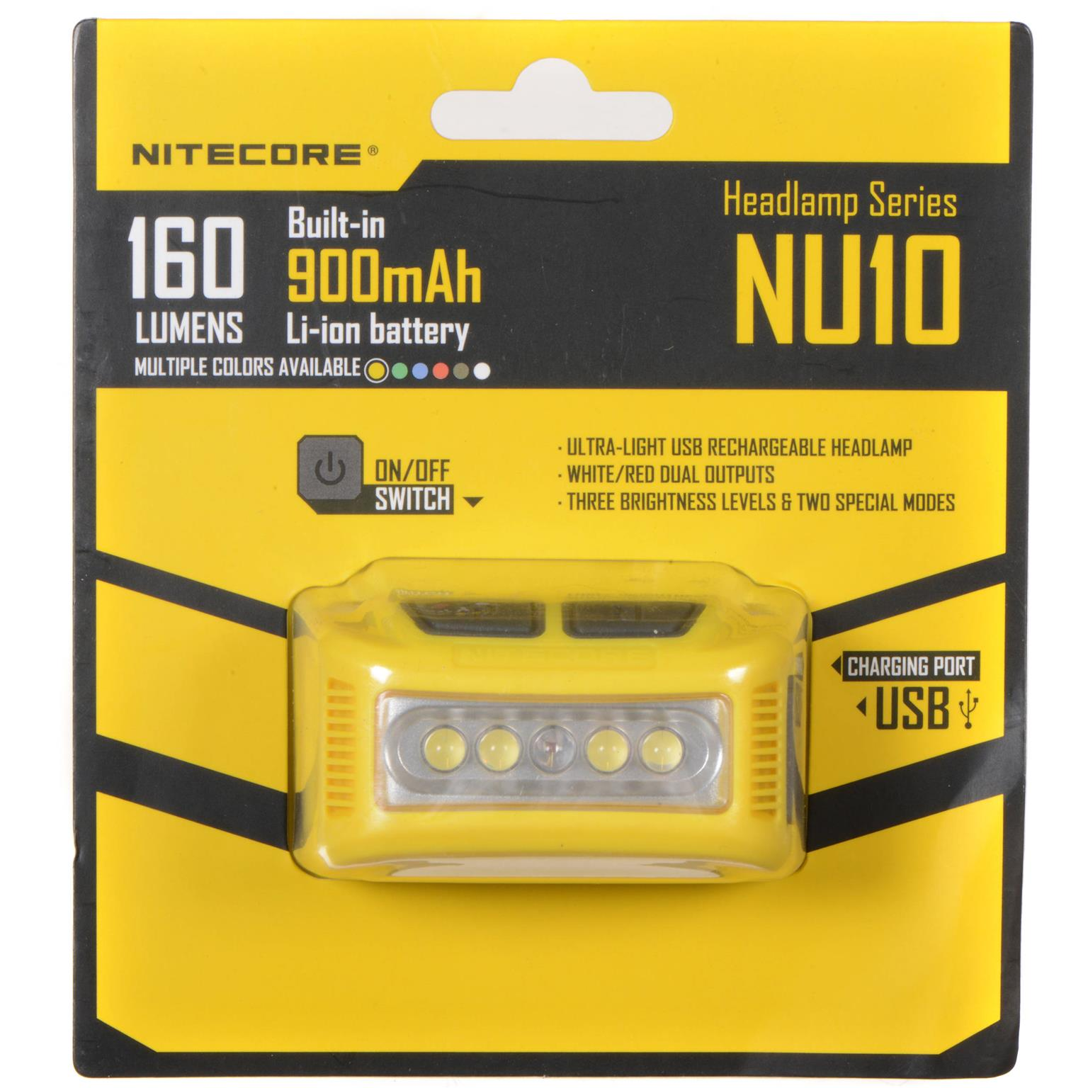 NiteCore Flashlights and Headlights