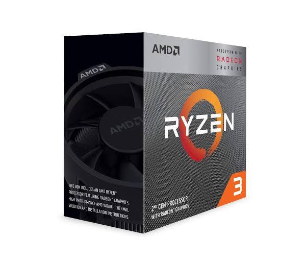 AMD Ryzen 3 3200G with RadeonVega 8 Graphics Desktop Processor 4 Cores up to 4GHz