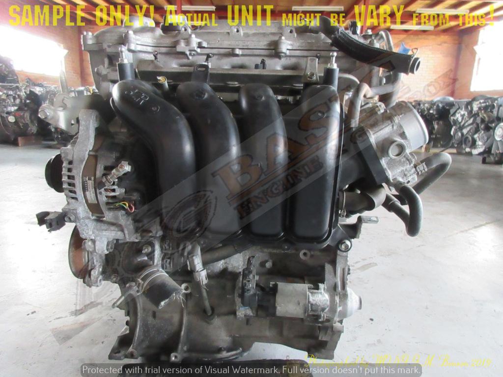 TOYOTA 3ZR 2.0L VVTI DOHC 16V Engine -