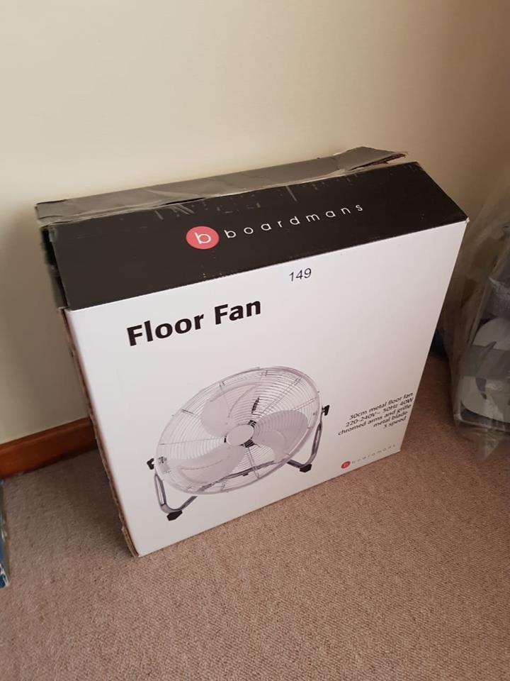 Boardmans floor fan for sale