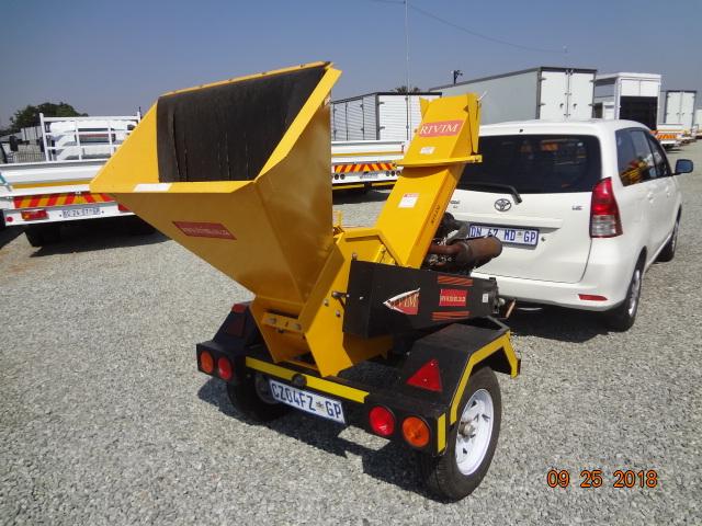 Rivim R125 Industrial Chipper