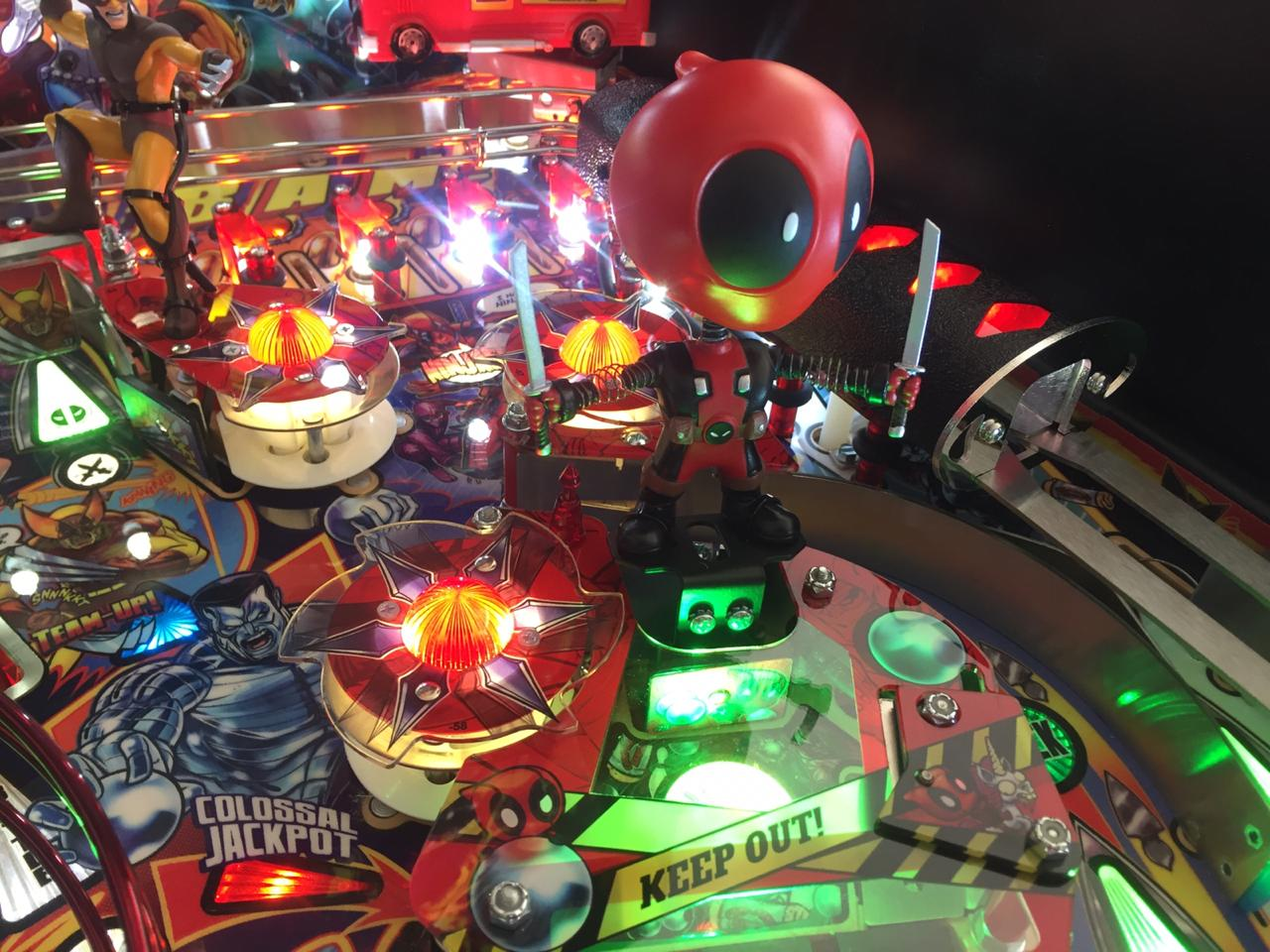Deadpool Premium Pinball Machine by Stern for sale on order