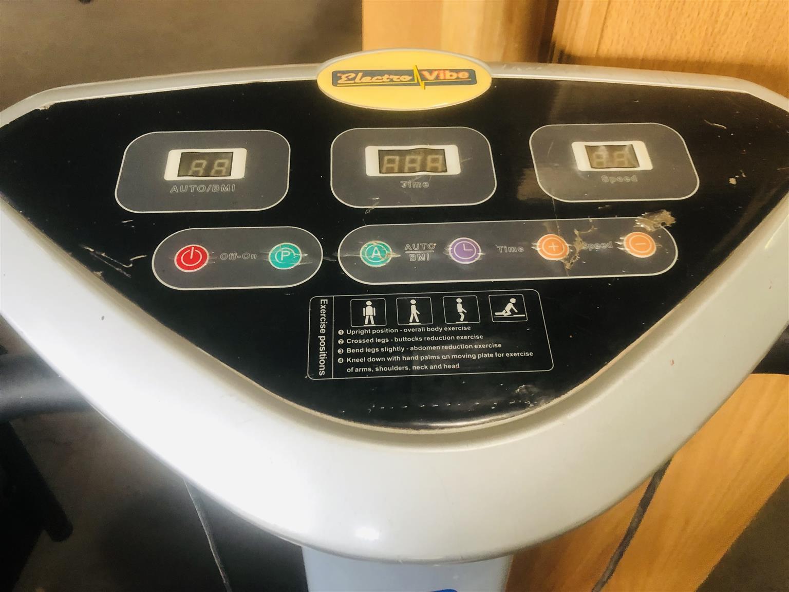 Electrovibe Exercise Vibrating Machine