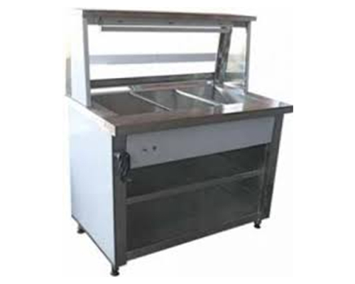 Bain Marie 3 Division Floor Model Electric
