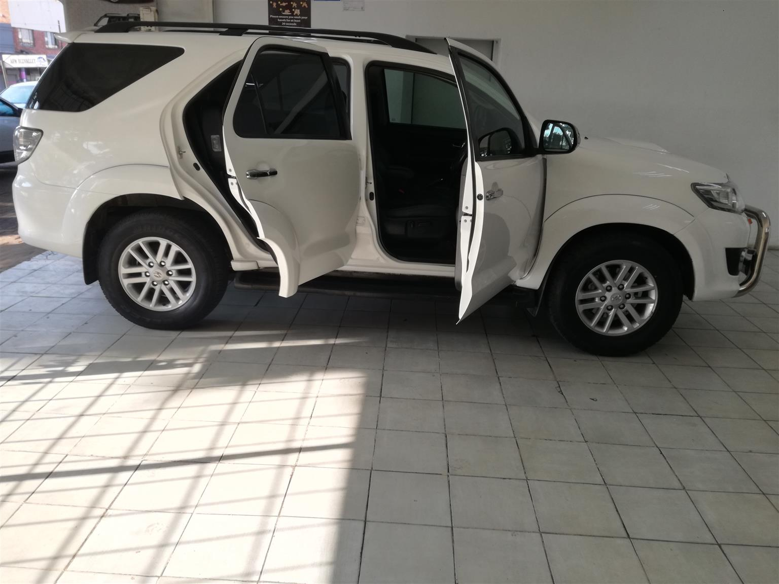 2013 Toyota Fortuner 3.0D4D Automatic