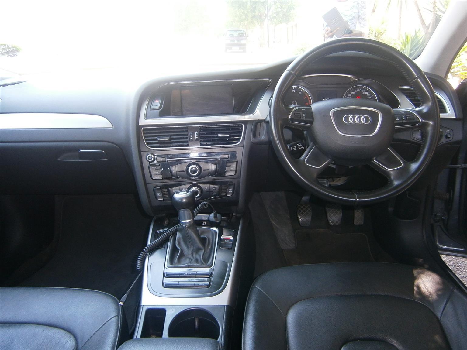 2012 Audi A4 1.8T Attraction multitronic