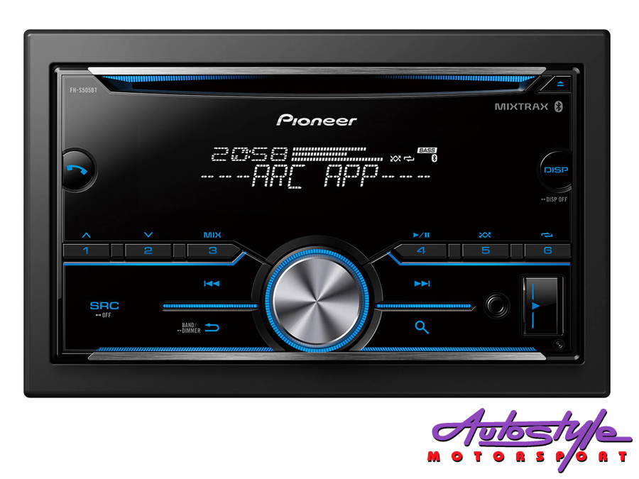 Pioneer FH-S505BT Double Din Audio Receiver with Bluetooth