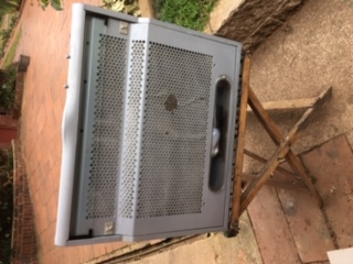 Extractor fan for stove