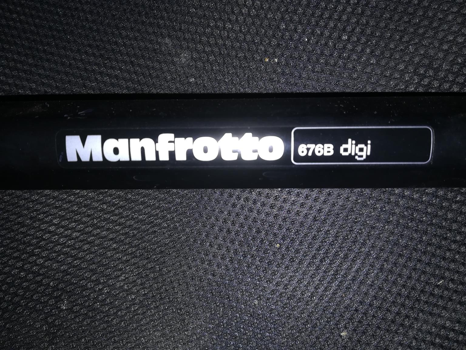 Manfrotto 676B Digi Monopod - Black