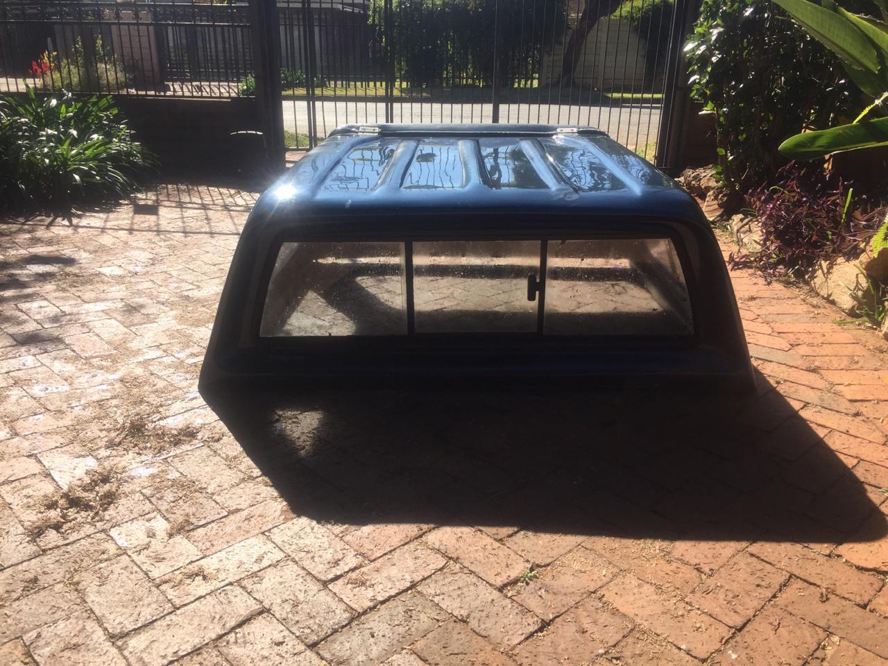 Isuzu 2012 Double Cab Blue Canopy For Sale.