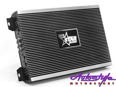 Starsound Hazard Series 5200 4channel Amplifier 4 Channel A-B Class 4 x 50W RMS at 4 ohm  other sizes and watt amplifiers available, browse our website