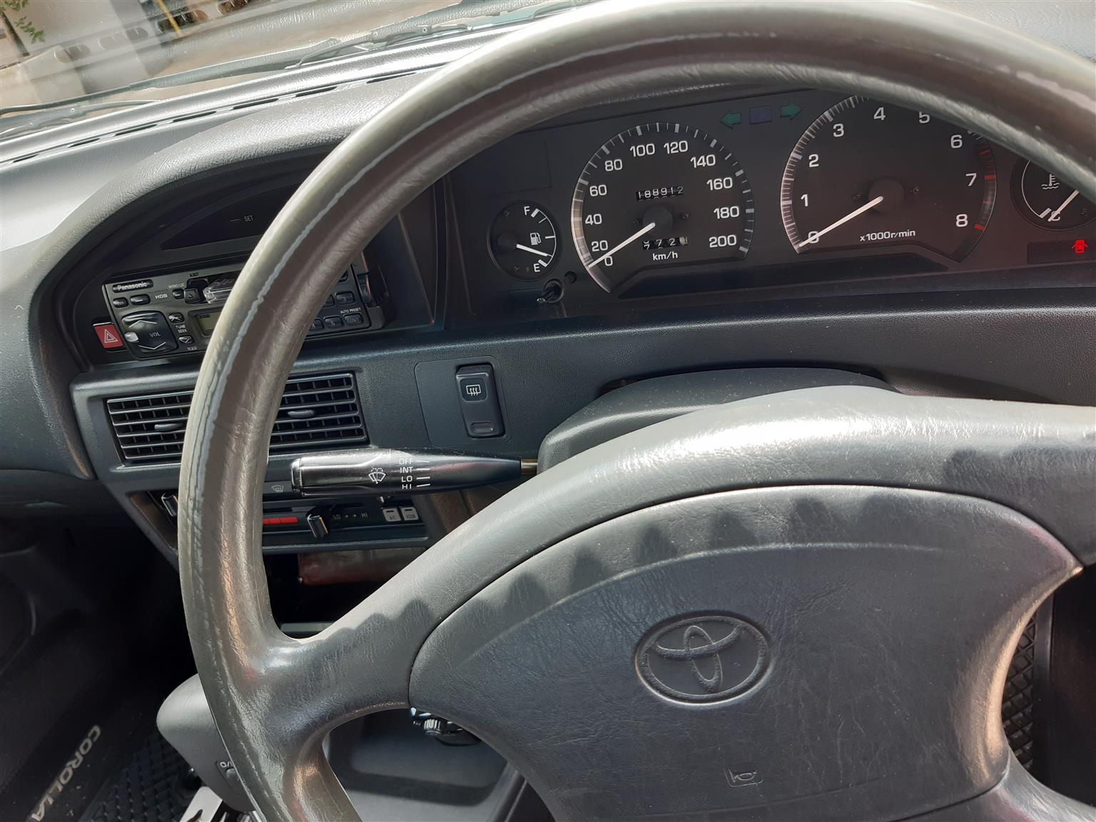 1996 Toyota Corolla 160i GLE automatic